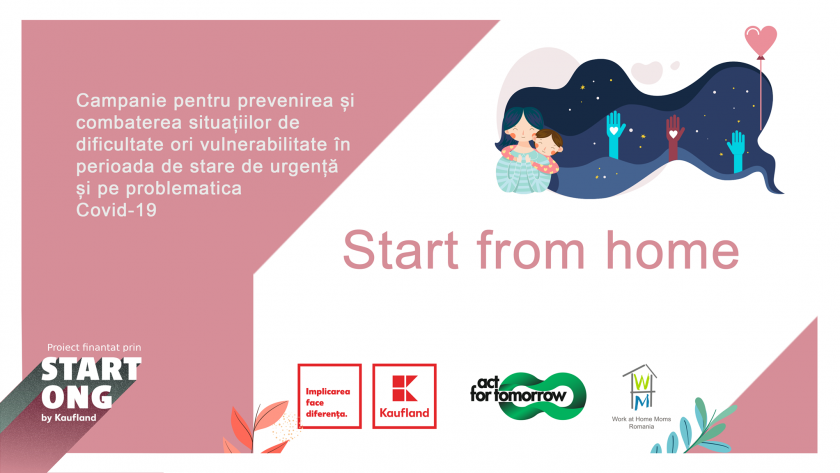"""Start from home"" – terapie prin artă"